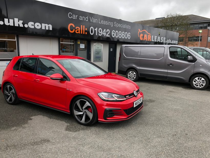Volkswagen GOLF HATCHBACK 2.0 TSI 245 GTI Performance 5dr Car Leasing Manchester