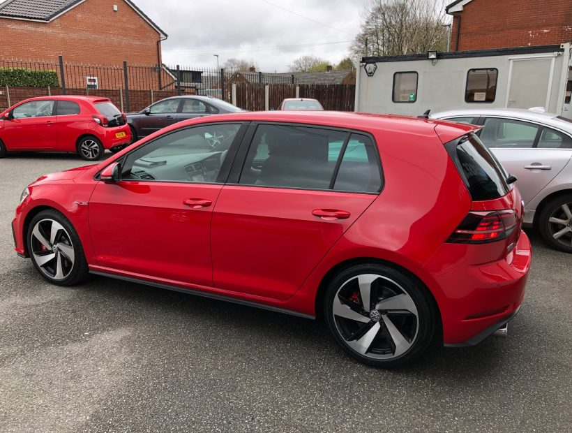 Volkswagen GOLF HATCHBACK 2.0 TSI 245 GTI Performance 5dr Car Leasing UK