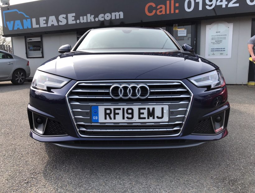 Audi A4 SALOON 35 TFSI S Line 4door (Tech Pack) Car Leasing Best Deals