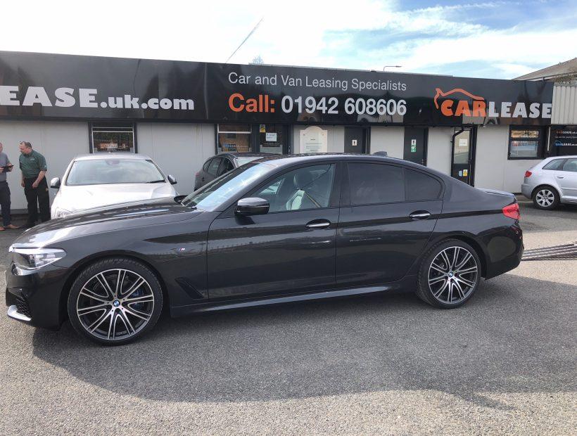 BMW 5 SERIES DIESEL SALOON 530d M Sport 4door Auto Car Leasing UK