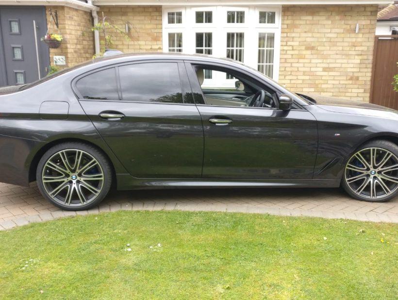 BMW 5 Series Diesel Saloon 530d M Sport 4 Door Auto Car Leasing