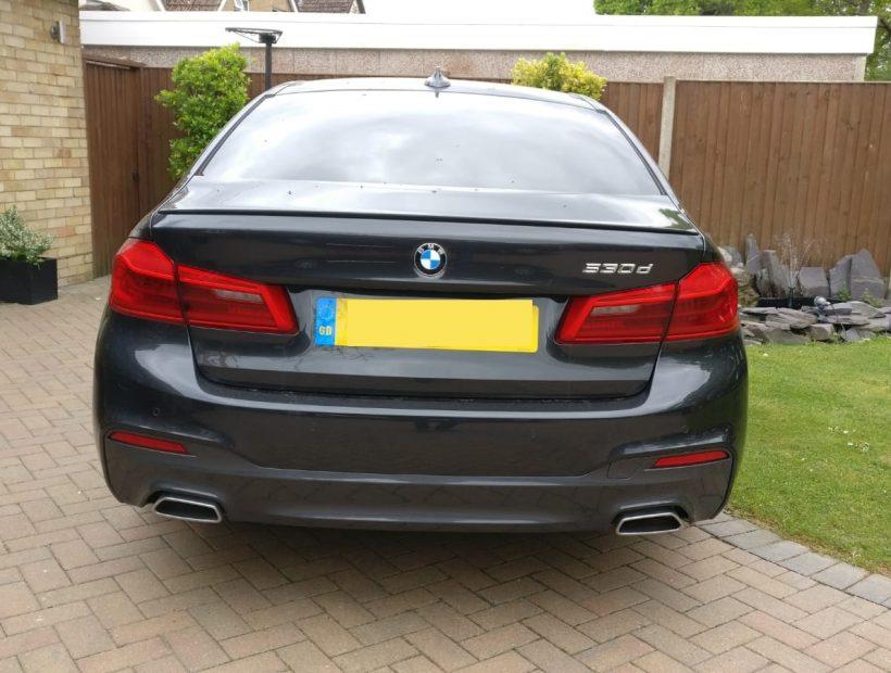 BMW 5 Series Diesel Saloon 530d M Sport 4 Door Auto Car Leasing UK