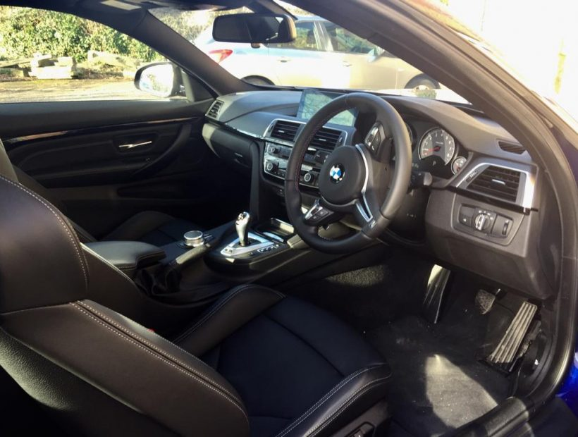 BMW M4 Coupe M4 2 Door DCT Car Leasing Interior