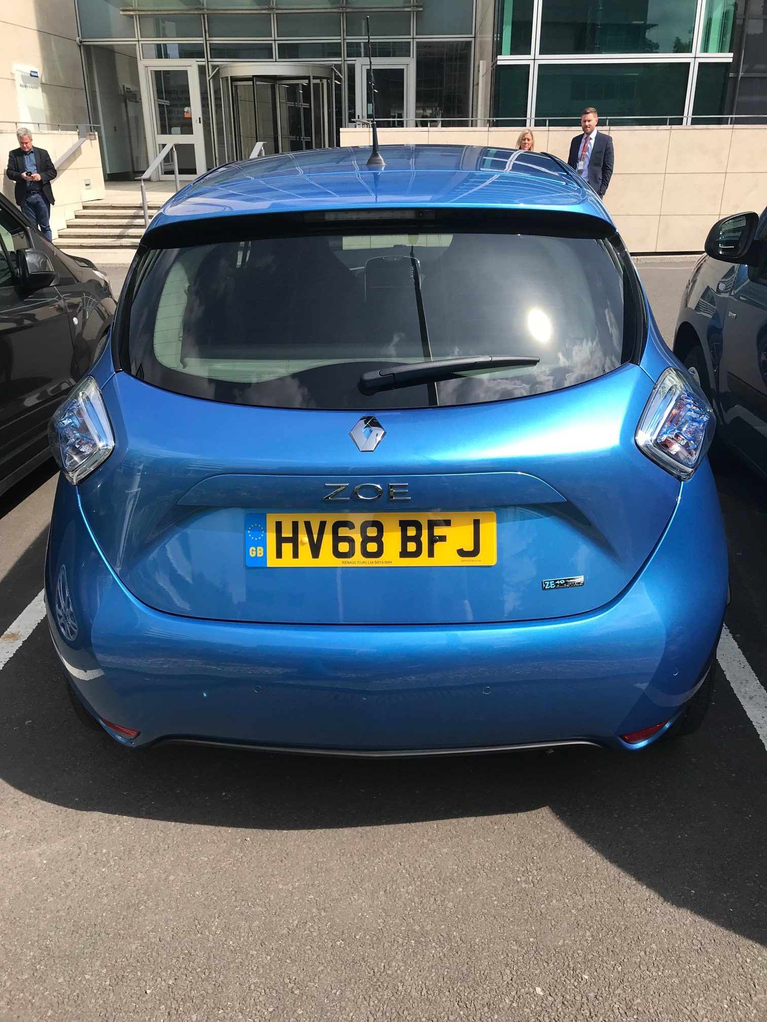 Renault ZOE HATCHBACK 80kW i Dynamique Nav R110 40kWh 5dr Auto Car Leasing Electric Cars