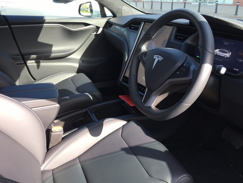 Tesla MODEL S HATCHBACK 449kW 100kWh Dual Motor 5dr Auto Electric Car Leasing Interior