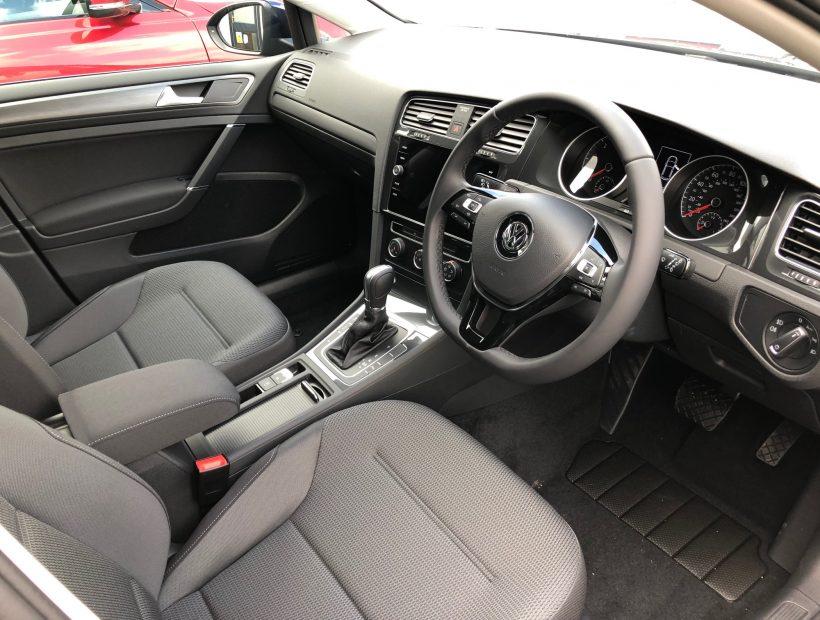 Volkswagen GOLF DIESEL HATCHBACK 1.6 TDI Match 5dr DSG Car Leasing Interior
