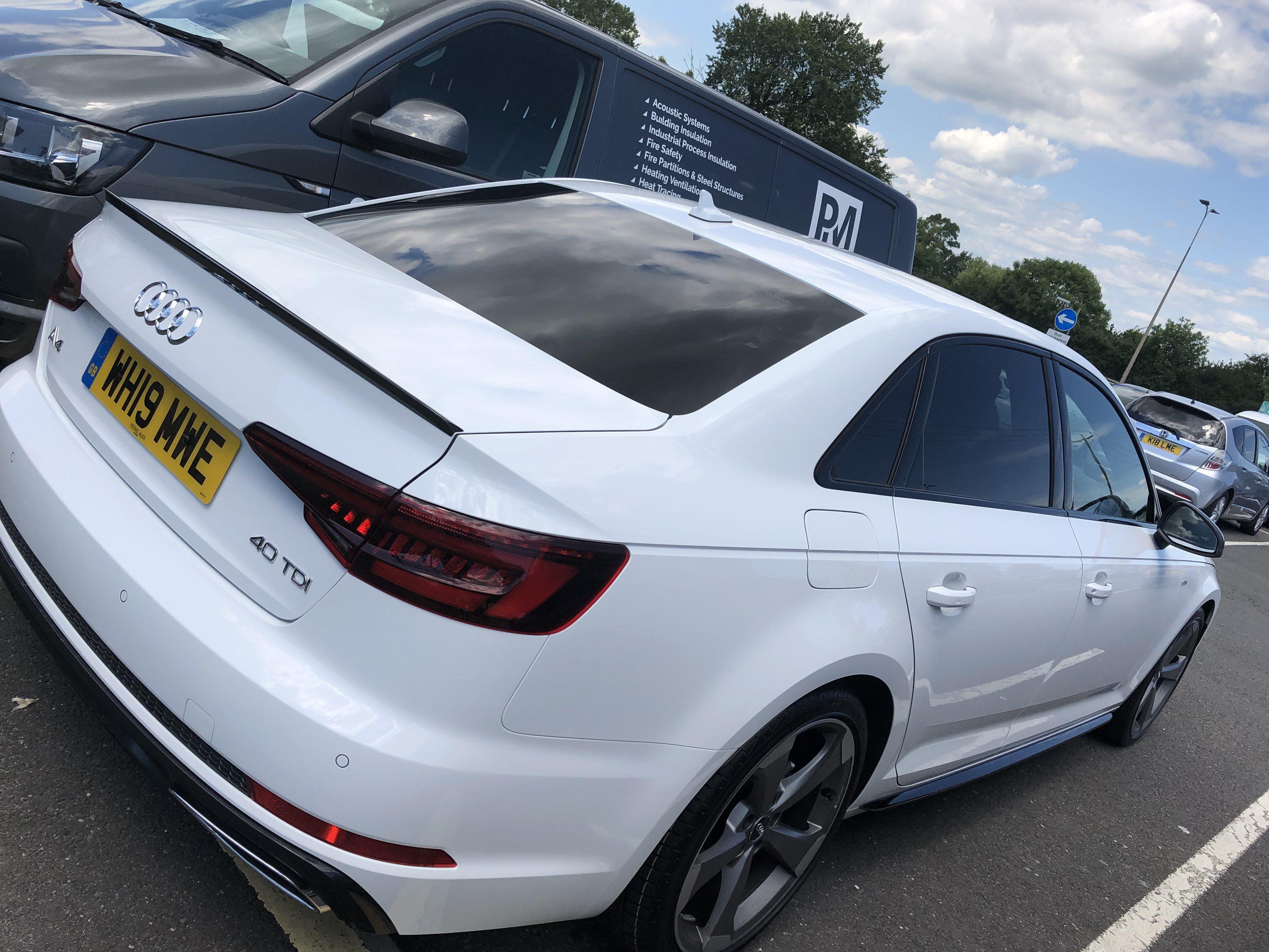 Audi A4 DIESEL SALOON 40 TDI Black Edition 4dr S Tronic [Tech Pack] Car Leasing