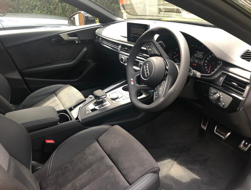 Audi A5 SPORTBACK 35 TFSI Black Edition 5door S Tronic Car Leasing Interiors