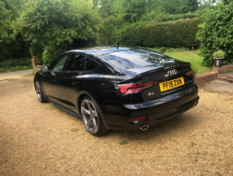 Audi A5 SPORTBACK 35 TFSI Black Edition 5door S Tronic Car Leasing UK