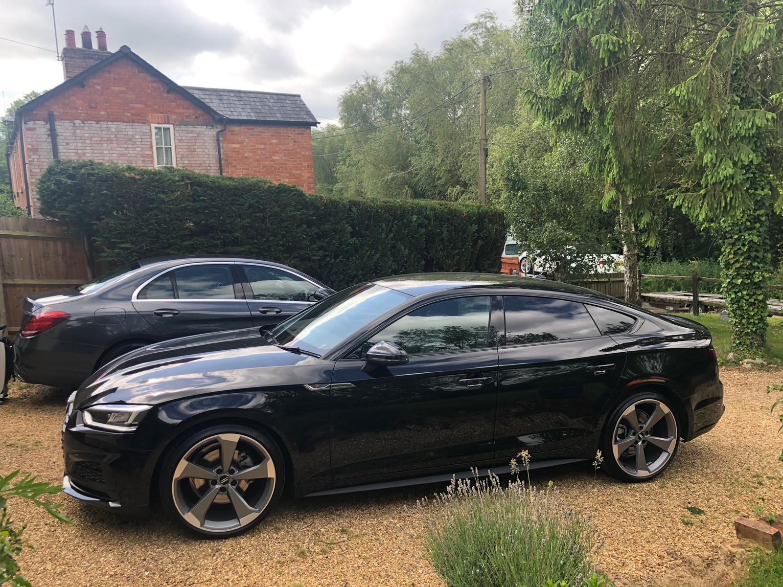 In Review; Audi A5 Sportback 35 TFSI Black Edition S Tronic (Petrol/ Auto)  - CarLease UK | Audi A5 Sportback Black Edition |  | CarLease UK