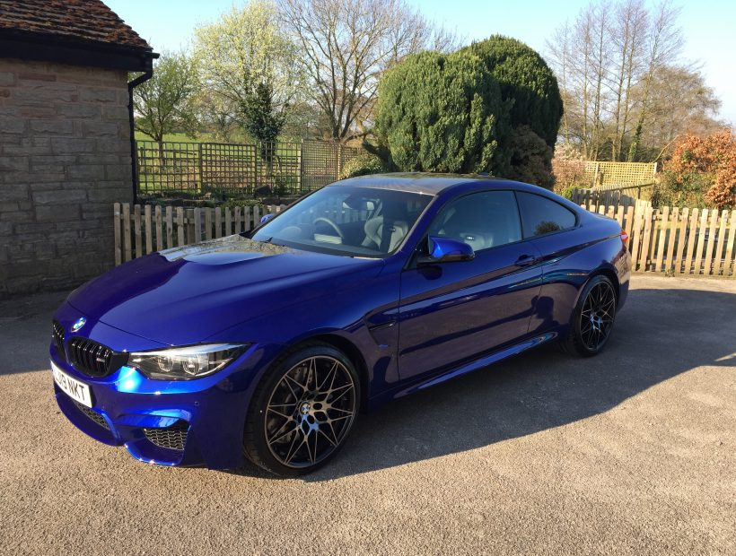 BMW M4 COUPE M4 2dr DCT [Competition Pack] Auto Car Leasing UK