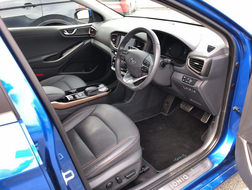 Hyundai IONIQ SALOON 88kW Electric Premium SE 28kWh 5dr Auto Electric Car Leasing Interior