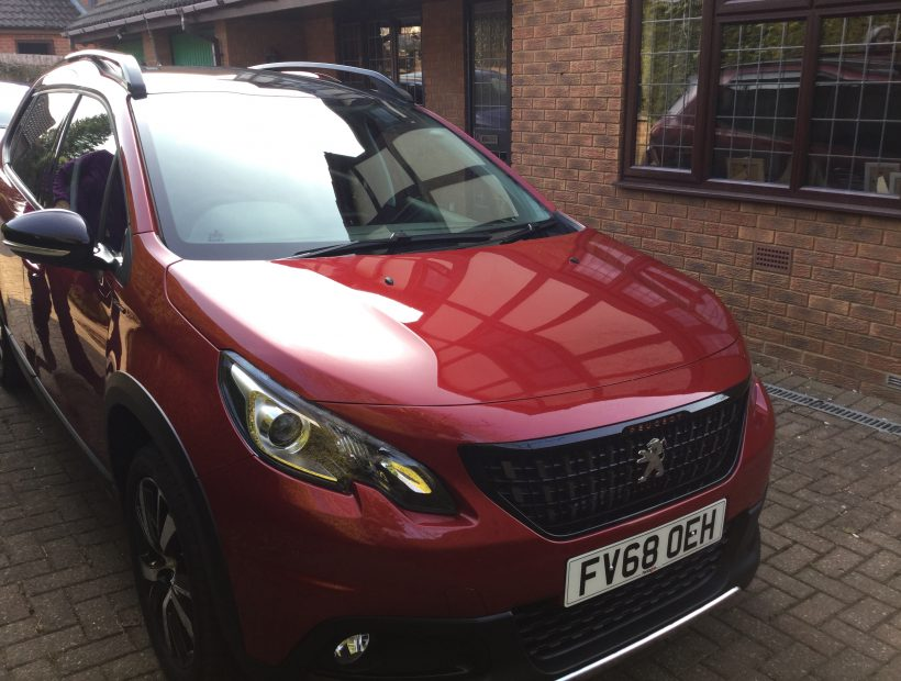 Peugeot 2008 Estate 1.2 Puretech 130 GT Line 5 Door Car Leasing Older Driver