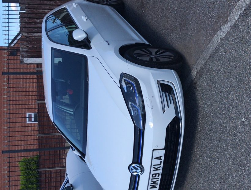 Volkswagen GOLF HATCHBACK 99kW e-Golf 35kWh 5dr Auto Electric Car Leasing Business