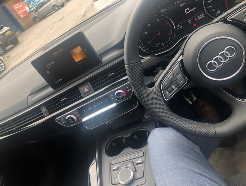 Audi A4 DIESEL SALOON 35 TDI Black Edition 4door S Tronic Car Leasing Best Offers