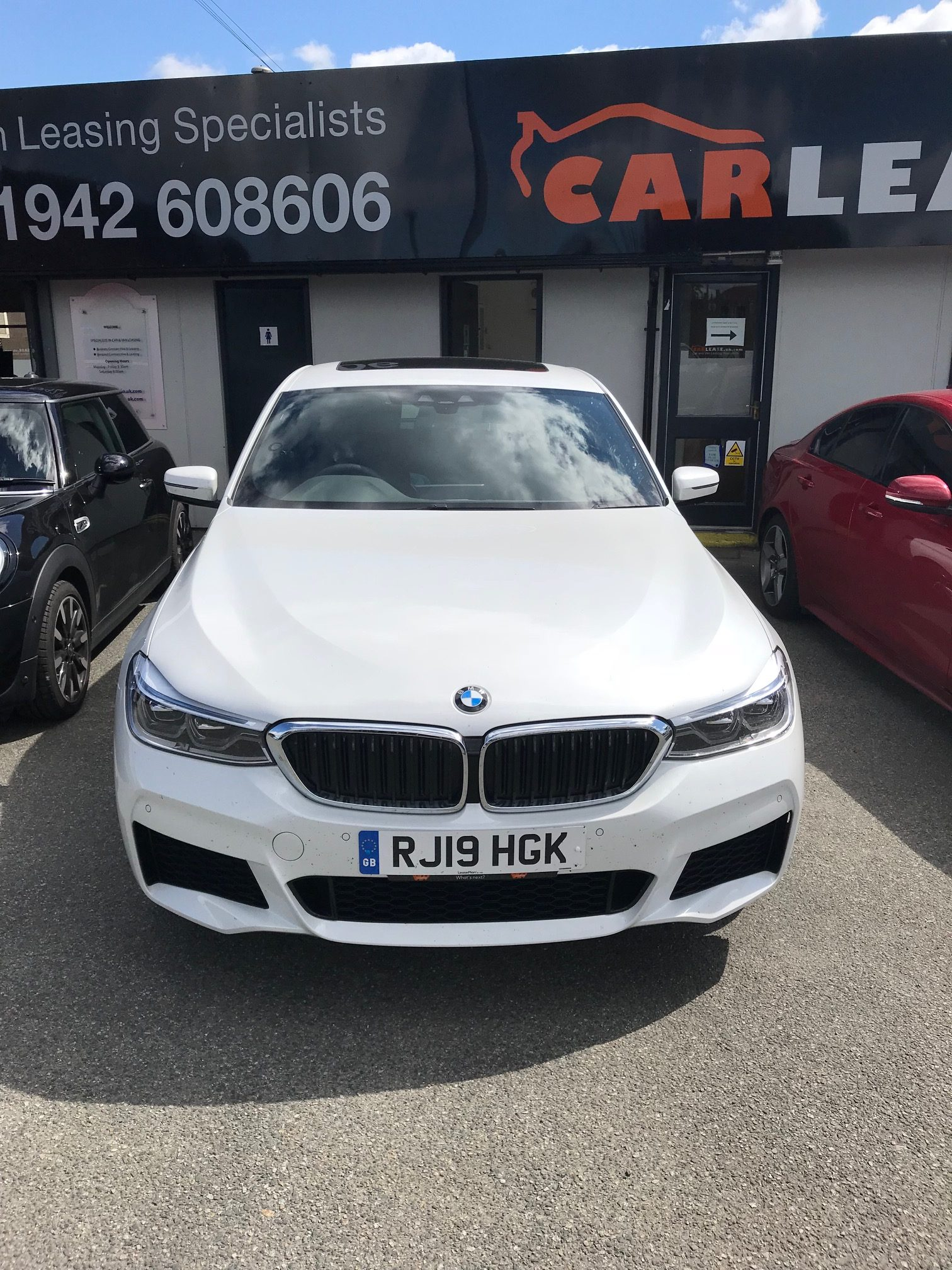 BMW 6 SERIES GRAN TURISMO DIESEL HATCHBACK 620d M Sport 5dr Auto Car Leasing