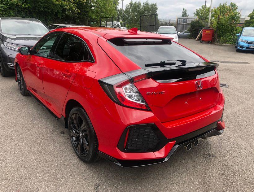 Honda CIVIC HATCHBACK 1.5 VTEC Turbo Sport 5dr Car Leasing Best Deals
