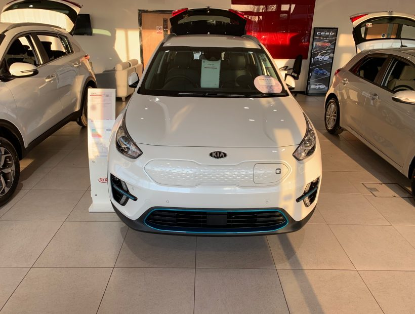 Kia E-NIRO ESTATE SPECIAL EDITIONS 150kW First Edition 64kWh 5dr Auto Car Leasing Best Deals
