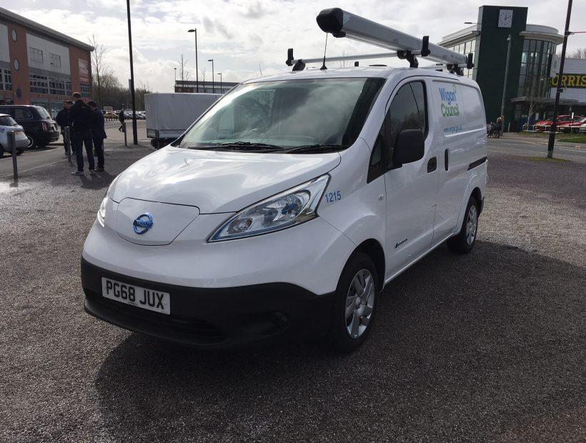 Nissan eNV200 ELECTRIC 80kW Acenta Van Auto 40kWh Van Leasing Best Offers