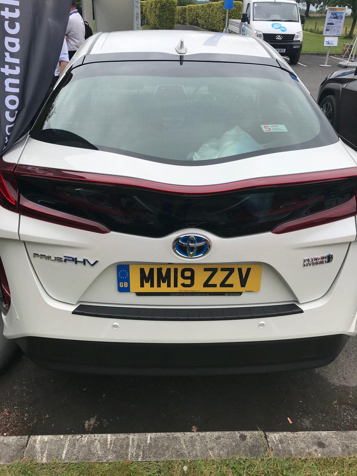 Toyota PRIUS HATCHBACK 1.8 VVTi Plug-in Excel 5dr CVT Car Leasing UK