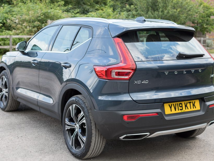 Volvo XC40 DIESEL ESTATE 2.0 D4 [190] Inscription Pro 5dr AWD Geartronic (Auto) Car Leasing Best Deals