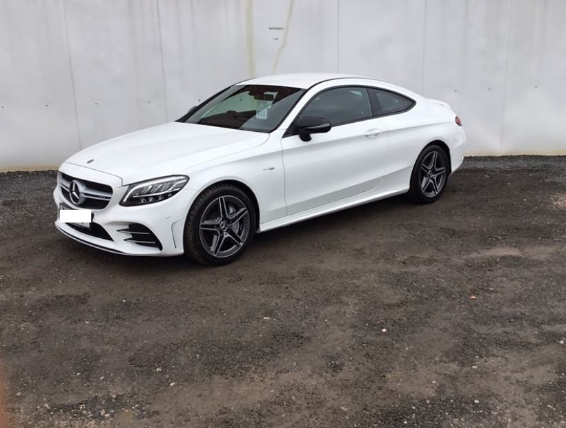 Mercedes-Benz C CLASS AMG COUPE C43 4Matic 2dr 9G-Tronic Car Leasing Luxury