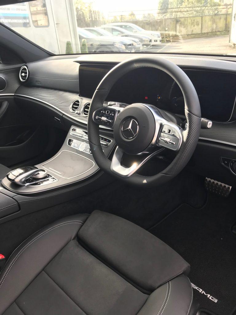 Mercedes-Benz E CLASS DIESEL ESTATE E220d AMG Line 5dr 9G-Tronic Car Leasing Interiors