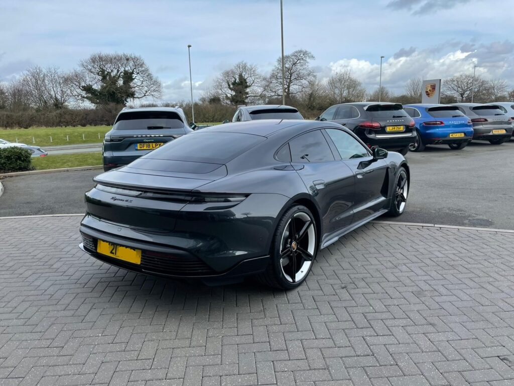 Porsche Taycan the ultimate electric supercar